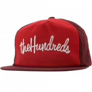 The Hundreds There Snapback Cap (maroon)