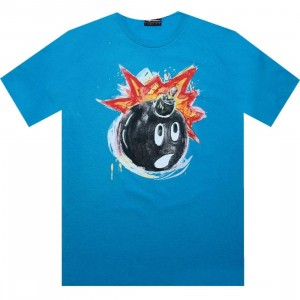 The Hundreds Watercolor Adam Tee (turquoise)