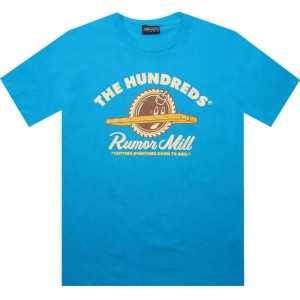 The Hundreds Rumormill Tee (turquoise)