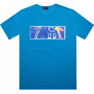 The Hundreds Splat Tee (turquoise)