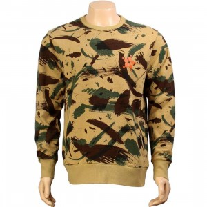 The Hundreds Mammoth Crewneck (camo)