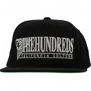The Hundreds Raidurrs Snapback Cap (black)