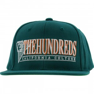 The Hundreds Raidurrs Snapback Cap (teal)