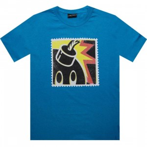 The Hundreds Stamp Adam Tee (turquoise)