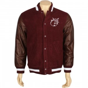The Hundreds Princes Jacket (purple burgundy)