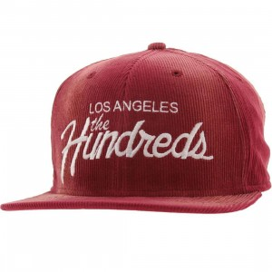 The Hundreds Team Snapback Cap (maroon)
