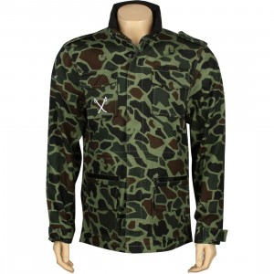 The Hundreds Axel Jacket (duck camo)
