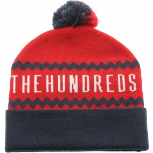 The Hundreds Ziggy Beanie (red)