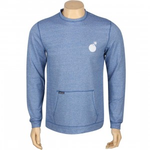 The Hundreds Yokozuna Crewneck (blue / white)