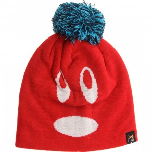 The Hundreds Adam Beanie (red)