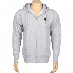 The Hundreds Adam Pieces Zip Up Hoody (athletic heather)