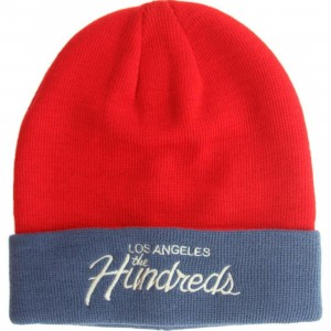 The Hundreds Team Beanie (red / blue)
