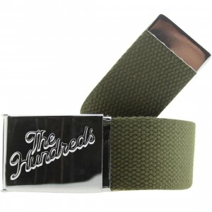 The Hundreds Tact Web Belt (olive)