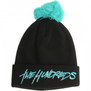 The Hundreds Blot Beanie (black)
