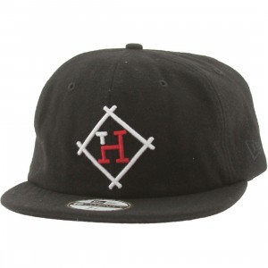 The Hundreds Brook New Era Fitted Cap (black)