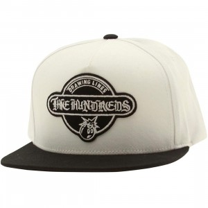 The Hundreds OE Town Adjustable Cap (white)