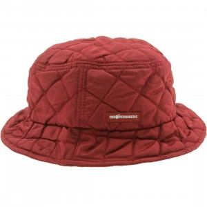 The Hundreds Wall Bucket Hat (burgundy)