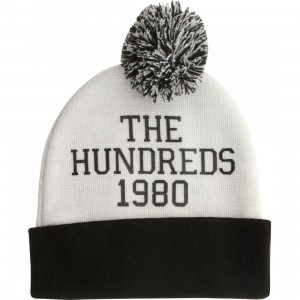 The Hundreds Selfish Beanie (white)