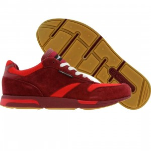 The Hundreds Skully Suede (red)