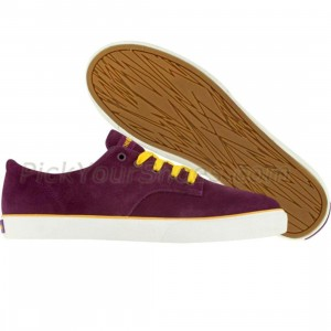 The Hundreds Johnson Low (purple / gold / white)