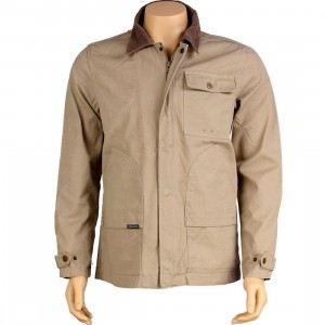 The Hundreds Hunt Jacket (khaki)