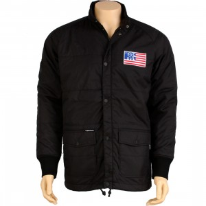The Hundreds Puff Puff Jacket (black)