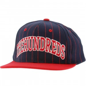 The Hundreds Pins Snapback Cap (navy)