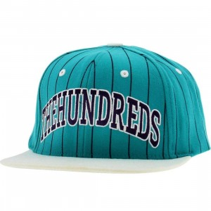 The Hundreds Pins Snapback Cap (teal)