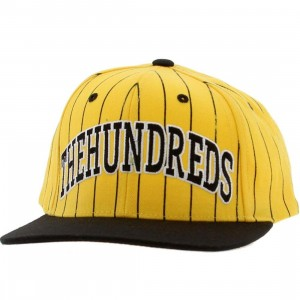 The Hundreds Pins Snapback Cap (yellow)