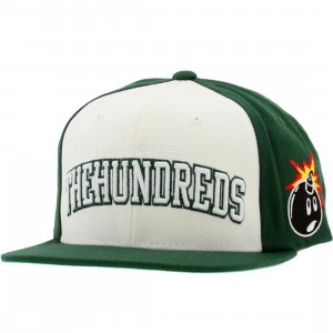 The Hundreds Player Snapback Cap (green)