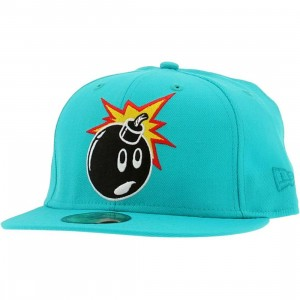 The Hundreds Adam New Era Fitted Cap (teal)