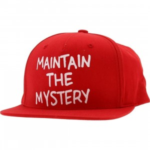 The Hundreds Maintain Snapback Cap (red)