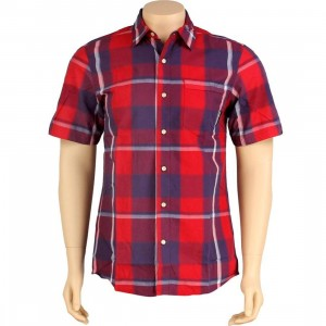 The Hundreds Uno Short Sleeve Shirt (red)