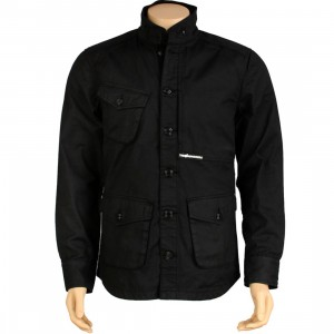 The Hundreds Surplus Jacket (black)