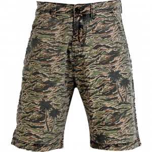 The Hundreds Blend Shorts (woodland)