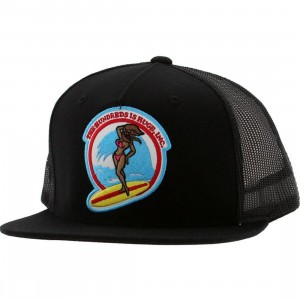 The Hundreds Bunny Cap (black)