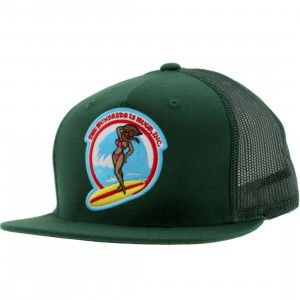 The Hundreds Bunny Cap (green)