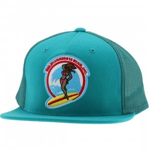The Hundreds Bunny Cap (teal)
