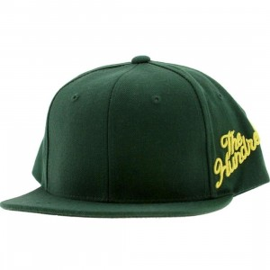 The Hundreds Side Slant Cap (green)
