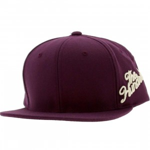 The Hundreds Side Slant Cap (purple)
