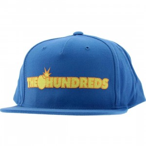 The Hundreds Side Logo Cap (blue)