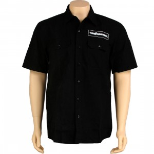 The Hundreds Jeri Short Sleeve Shirt (black)