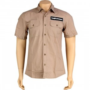 The Hundreds Jeri Short Sleeve Shirt (khaki)