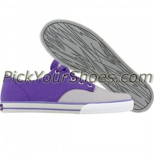 The Hundreds Johnson Low Top (purple)
