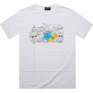 The Hundreds Locals Only Tee (white)