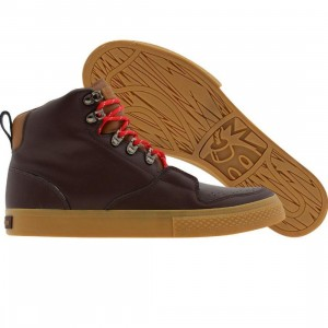 The Hundreds Riley High Premium Leather (brown)