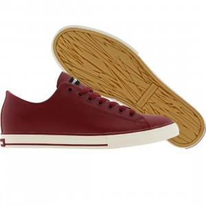 The Hundreds Valenzuela Low Top (burgundy)