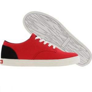 The Hundreds Johnson Low Top Canvas (red)