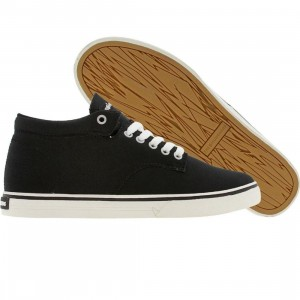 The Hundreds Johnson Mid Top Canvas (black)