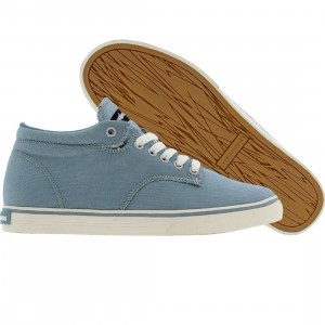 The Hundreds Johnson Mid Top Canvas (blue)